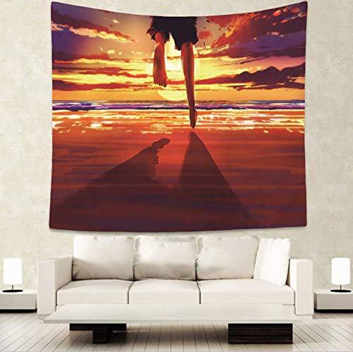 Mandala Wandteppich Strandtuch Yogamatte Sunblock Decke Wandteppich Reise Matratze 150 x 170 cm