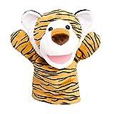Aishankra Hand Finger Puppe Tiger Beruhigt Das Baby Handschuh Kinder Tiergeschichten Requisiten Kindergarten Lehrmittel, Spielzeug, Cosplay, Shows, Spielzeit, Kinder Pädagogisch