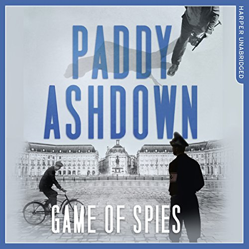 Game of Spies audiobook cover art