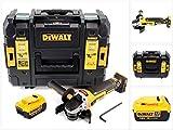 DeWalt DCG 405 NT Akku Winkelschleifer 18V 125mm Brushless + 1x Akku 4,0Ah + TSTAK - ohne Ladegerät