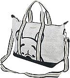 Winnie The Pooh Grey Weekend Tote Bag