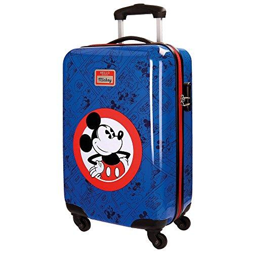 Disney - HELLO MICKEY - Equipaje Infantil - 35L - 55 cm