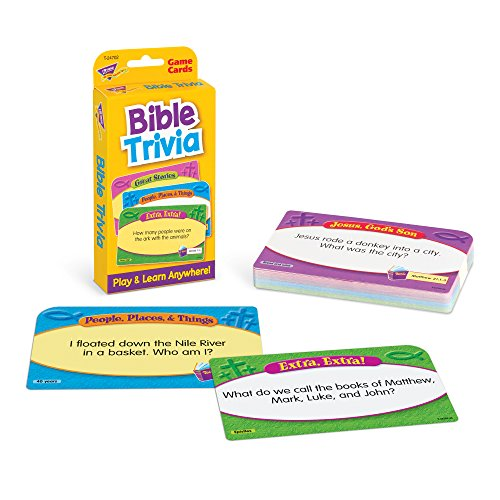 Bible Trivia Flash Cards