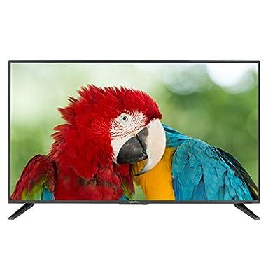 Komodo by Sceptre 43  LED HDTV 3x HDMI 2.0 HDCP 2.2, Metal Black 2018