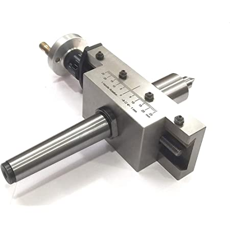 NEW IMPROVED TAPER TURNING ATTACHMENT WITH REVOLVING LIVE CENTER- MT2