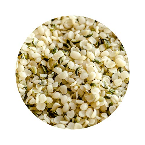 Earth Circle Organics Hemp Seed -Bulk 44lb Pack| Hulled Hemp Seeds | Kosher, USDA Certified Organic and Vegan | for Smoothies and Sprinkling