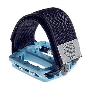 BLB Lockdown Straps Fahrrad Pedal Riemen für noch mehr Halt auf der Pedale für Freestyle, BMX, Rennrad, Singlespeed, Fixie