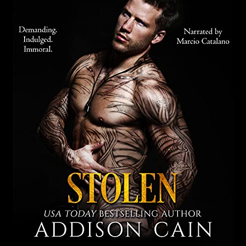 Stolen Audiobook By Addison Cain cover art