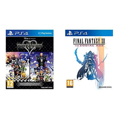 Final Fantasy XII HD: The Zodiac Age, Edición Standard + Kingdom Hearts HD 1.5 + 2.5 Remix