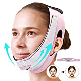 Face Slimming Strap,Double Chin reducer,V Line Lifting Mask, Face Slimmer Shaper Mask,Face Lift Chin Mask, Chin Strap for Double Chin for Women,V Shaped Slimming Face Mask double chin eliminator