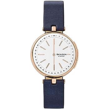 スカーゲン SKAGEN 腕時計 レディース SKT1412 ハイブリッド スマートウォッチ シグネチャー SIGNATUR クォーツ ホワイト ネイビー [並行輸入品]