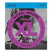 D'Addario EXL120 エレキギター弦×3セット