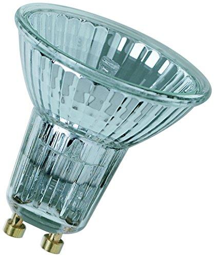 Osram Halogen-Reflektor, Halopar, GU10-Sockel, Dimmbar, 50 Watt, 35° Abstrahlwinkel, Warmweiß - 2700 K
