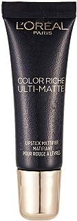 L'Oreal Paris Color Riche Ulti Matte Lipstick Mattifier, Divine Wine 975