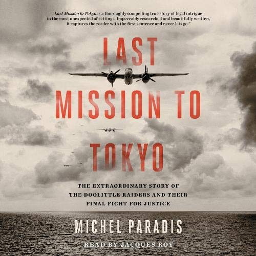 Last Mission to Tokyo Audiobook By Michel Paradis cover art