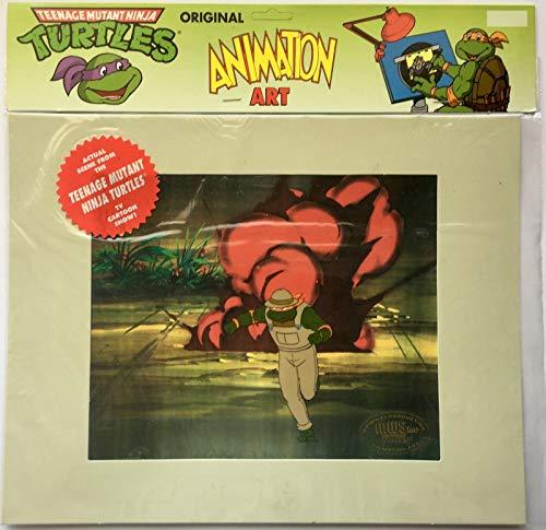 Teenage Mutant Ninja Turtles Hand Painted Animation Cel Michaelangelo #2 TMNT