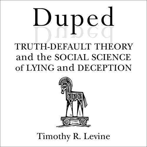 Duped Audiobook By Timothy R. Levine cover art
