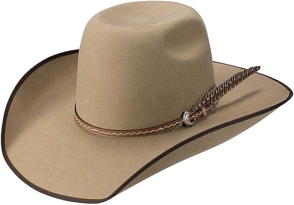 RESISTOL Tuff Hedeman Rockland B Rare Hat Cowboy Luxury goods 3X Wool -