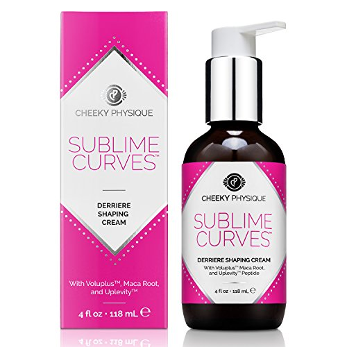 Sublime Curves Butt Enhancing Cream - Booty Lifting & Firming Formula with Voluplus + Maca Root + Uplevity Peptide - 4 oz.