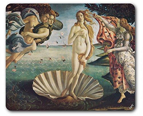 1art1 Sandro Botticelli - La Nascita di Venere, 1483-1485 Tappetino per Mouse (23 x 19cm)