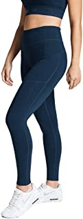 Rockwear Activewear Women's Fl Perforated Pocket Tight from Size 4-18 for Full Length High Bottoms Leggings + Yoga Pants+ ...