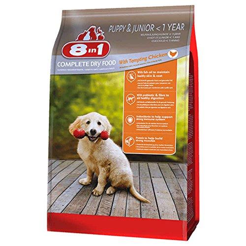 8in1 Trockenfutter Hund Junior, Huhn Größe 1kg