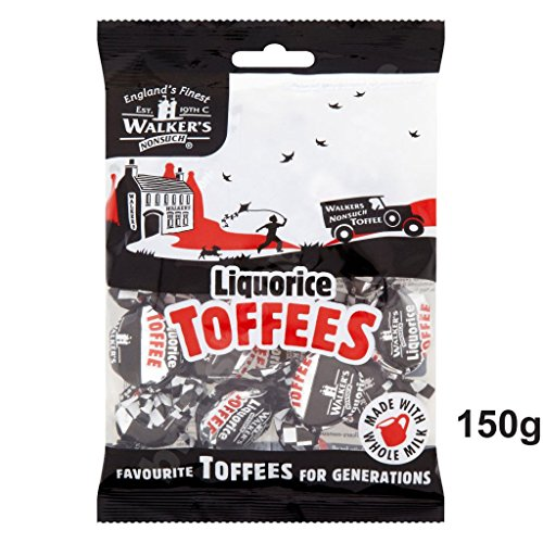 Walkers Nonsuch Liquorice Toffees 150g