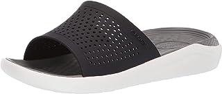 Crocs Slide Noire/Fumée Mixte Adulte, Chaussures de Plage & Piscine