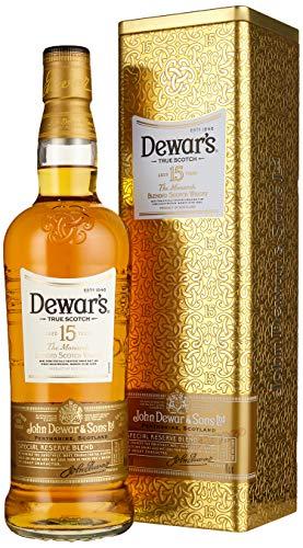 Dewar's 15 Blended Scotch Whisky in hochwertiger Geschenkverpackung (1 x 0,7 l)