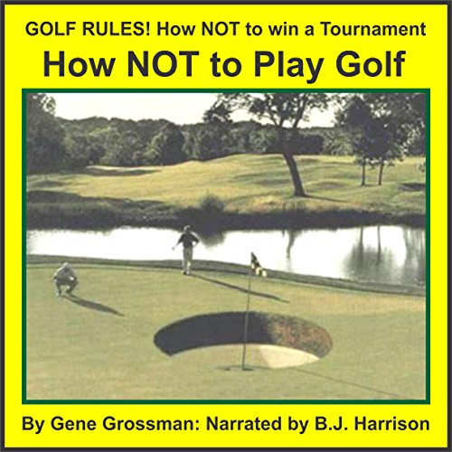 Golf Rules audiobook cover art