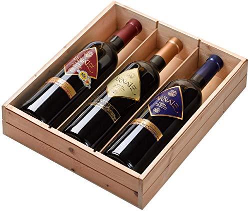 Viña Arnaiz - Estuche de 3 Botellas de Vino con D.O. Ribera del Duero - Reserva, Crianza y Roble - Estuche de 3 Botellas x 750 ml