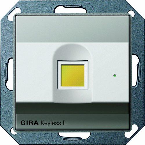 Gira 260720 Keyless In Fingerprint Gira E22, Edelstahl
