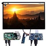 GeeekPi 10.1 Inch 1280x800 Display Kit HDMI IPS Monitor de Pantalla LCD para Raspberry Pi 4 Modelo B/Raspberry Pi 3B + / 3B / 3A + / 2B, Windows 7/8/10, Mac (sin Pantalla táctil)