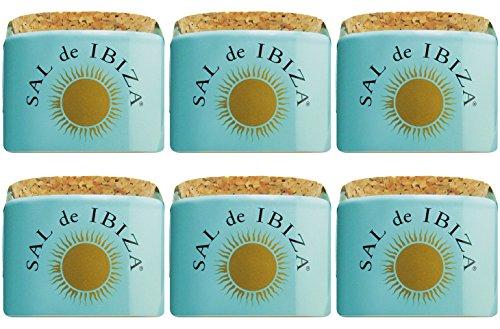 Sal de Ibiza Fleur-de-Sel im Keramiktopf - mini - 6 x 28,5 g