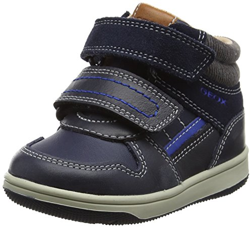 Geox Baby Jungen B New Flick Boy A High Top Sneaker, Blau (Navy/Royal), 22 EU
