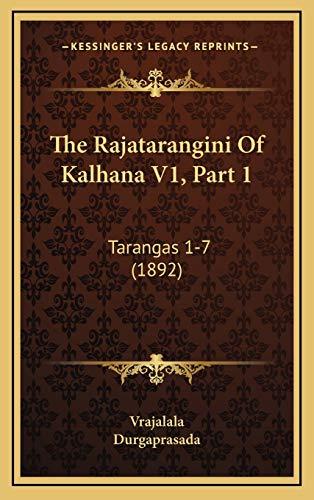Rajatarangini of Kalhana V1, Part 1