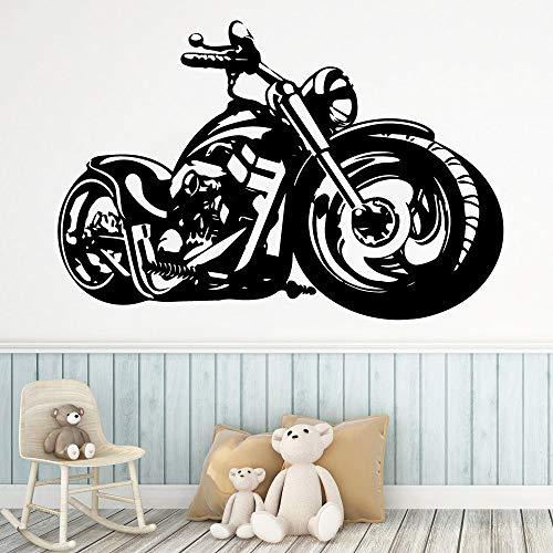 Tianpengyuanshuai Cartoon-Stil Motorrad Home Decoration Kinderzimmer 33X49cm