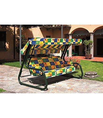 Scab Design Dondolo 1302 Master Piu' 4 POSTI TRASFORMABILE in Letto