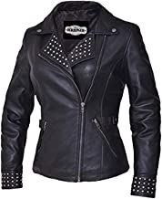 Unik International Ladies Derringer Lambskin Leather Jacket XL