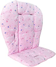 Colchoneta para Cochecitos,Asiento Universal Cojín para cochecitos/capAnos de bebé/carritos/sillas de Paseo Algodón Suave Transpirable (Rosa)