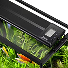 Hygger 957 Planted Aquarium Light features programmable, gradual 24-hour light cycle settings (sunrise, midday, sunset and night), auto on and off, to create a optimal condition for your fish and aquatic plants Build-in Timer - The lighting system en...