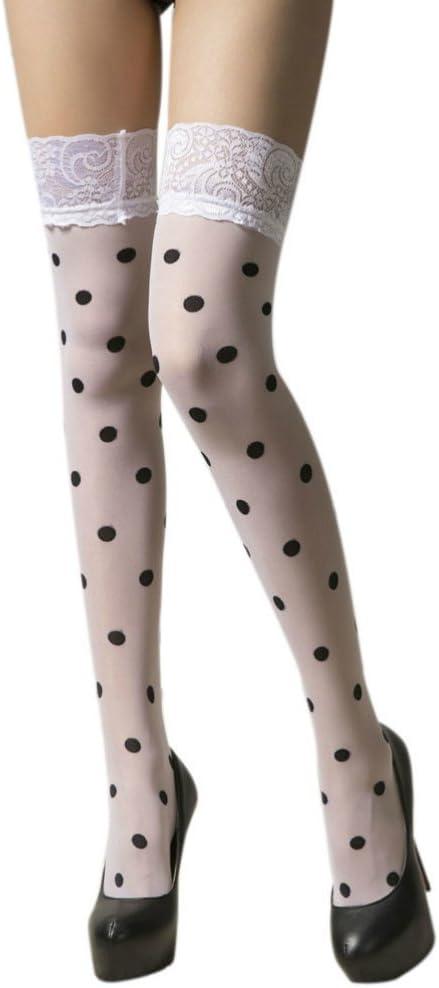 Ballerina Luxury 325 Hold Ups Thigh-Highs Polka Dots