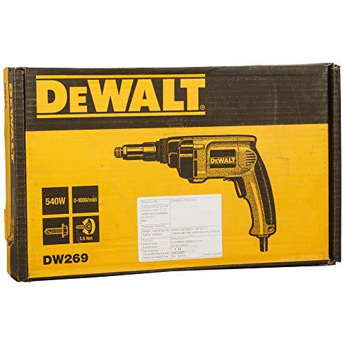 DEWALT Drywall Screw Gun, 6.5-Amp (DW269)