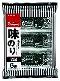 丸徳海苔 藻塩味のり12切5枚 6束
