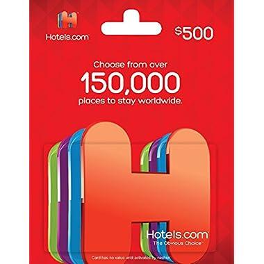 Hotels.com Gift Card $500