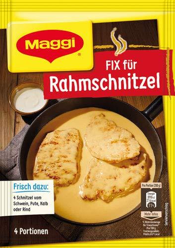 8x Maggi - FIX für Rahmschnitzel