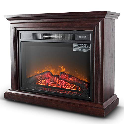 Belleze 3D Infrared Electric Fireplace Stove...