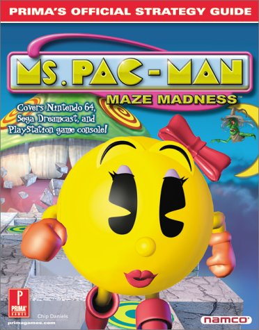 Ms. Pac-Man Maze Madness: Prima's Official Strategy Guide