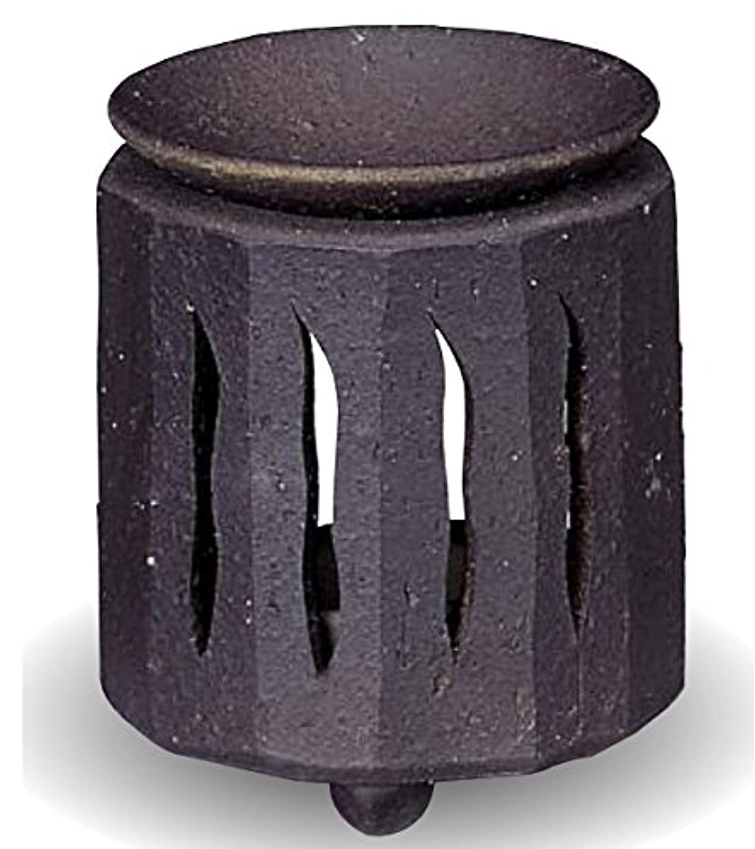 刺激する誰でも楽な常滑焼 茶香炉(アロマポット)径9×高さ11cm