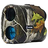 TecTecTec ProWild Hunting Rangefinder - 6x24 Laser Range Finder for Hunting with Speed, Scan and...